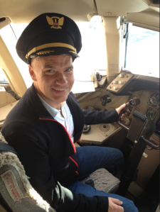 I'm not really a pilot.