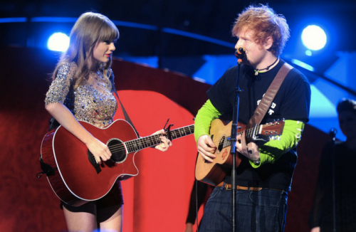 Don't expect Taylor to do any duets with Spotify anytime soon. Unlike her buddy Ed Sheeran.